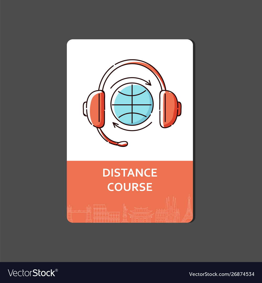 Sketch web banner or flyer for apps and distance