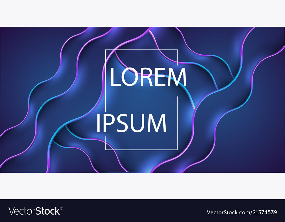 Abstract background of curved lines in dark blue c