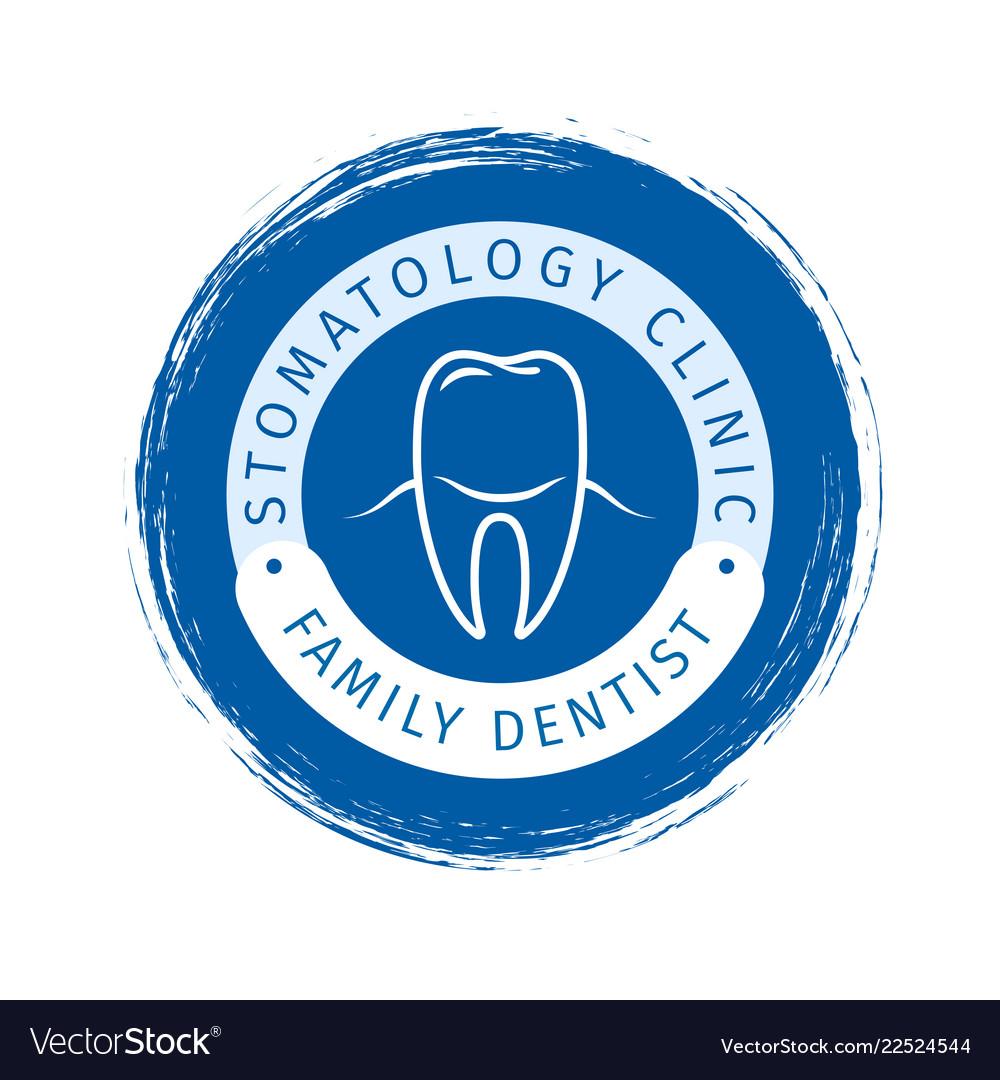 Family dentist logo design