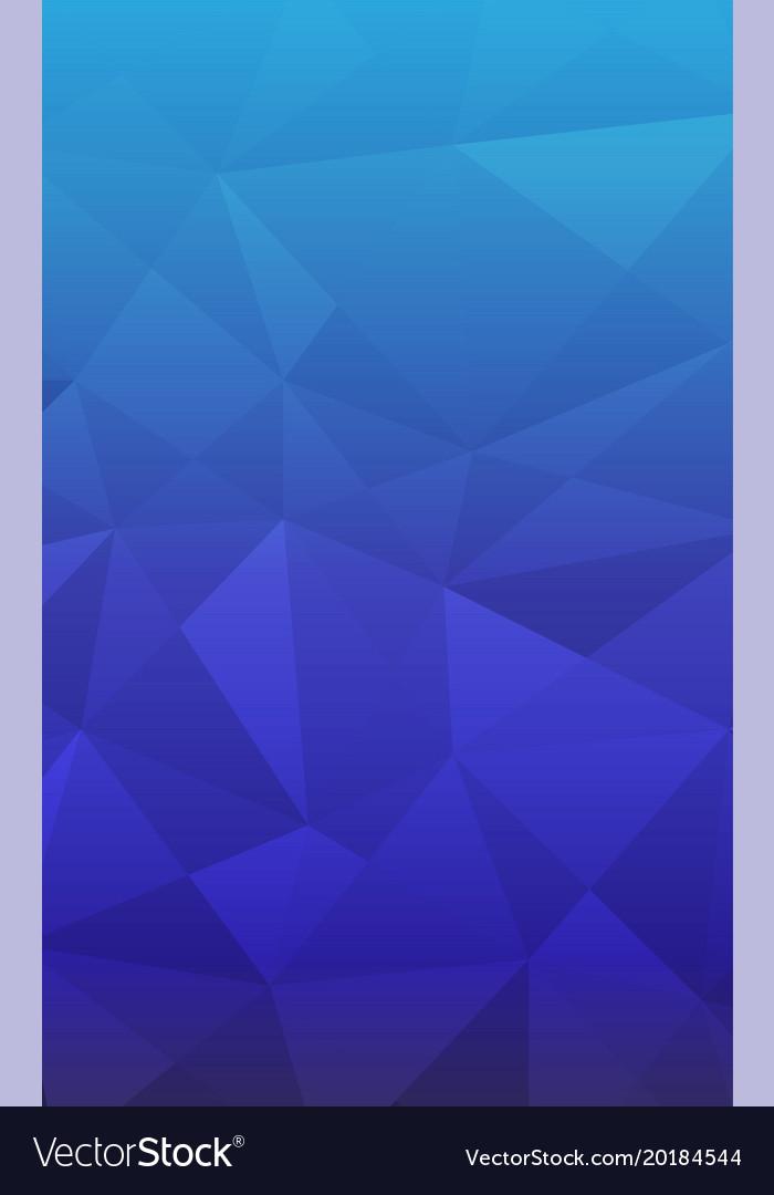 Geometric Pattern Smart Phone Background Blue