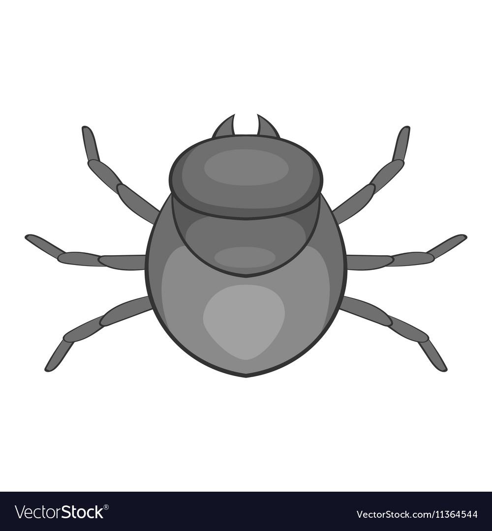 Harvest bug icon cartoon style vector image