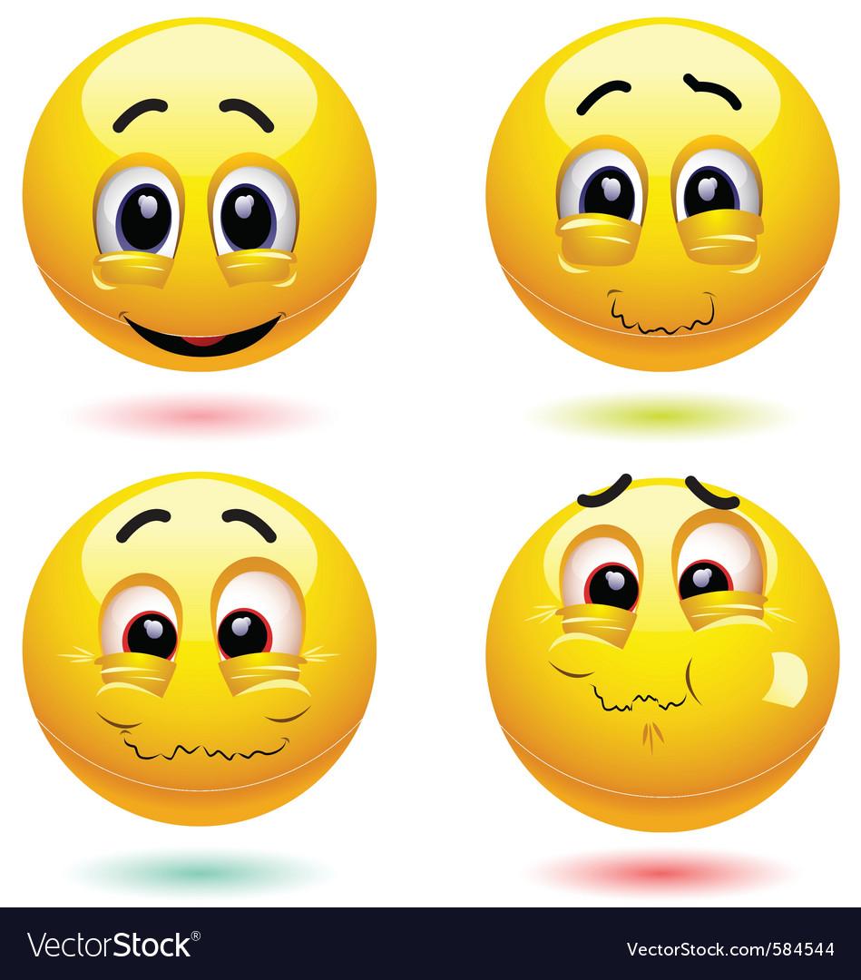 Smiley characters