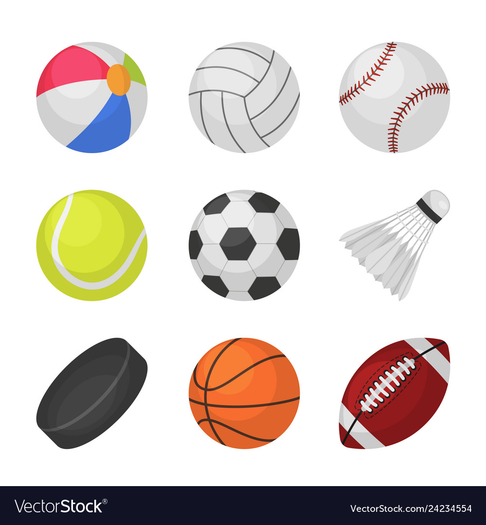 Ball games sports kids ball volleyball baseball