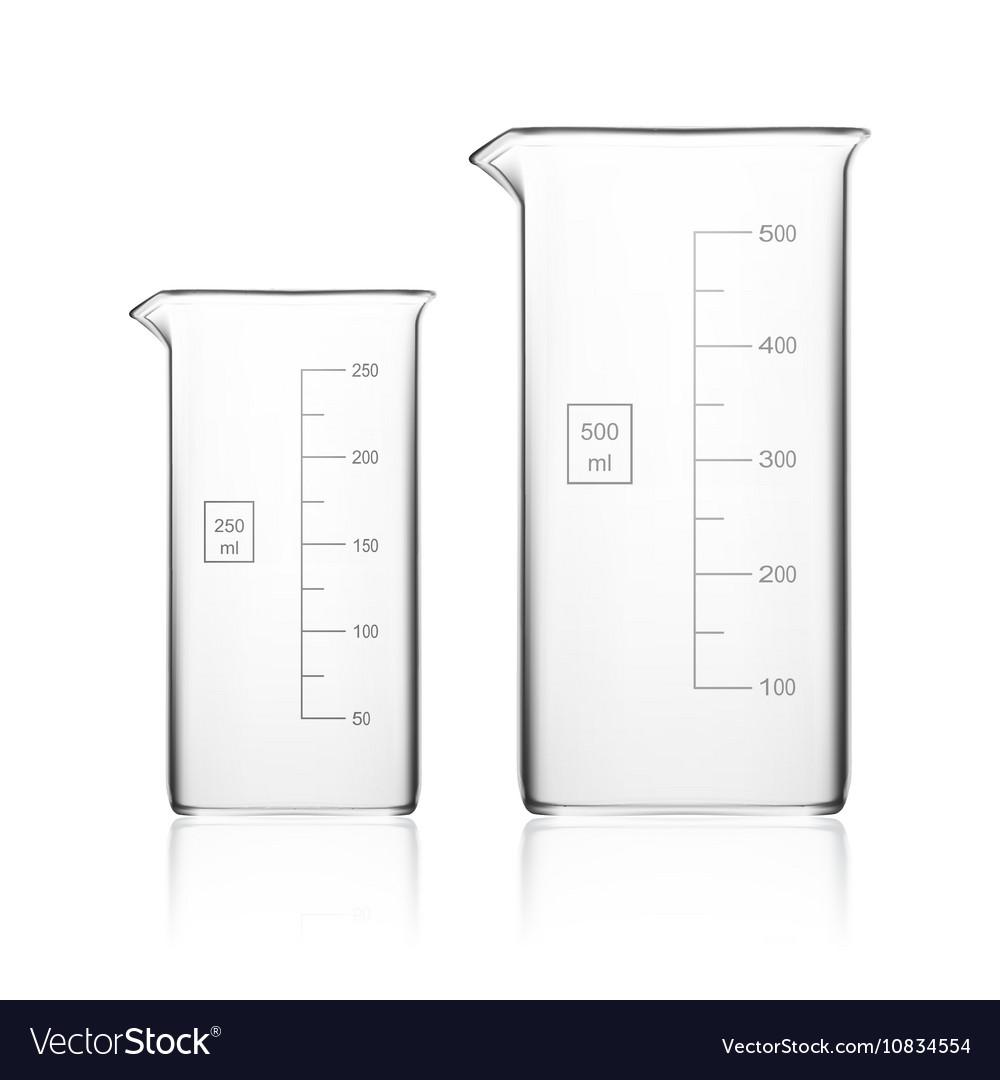 Chemical Laboratory Glassware Or Beaker Glass