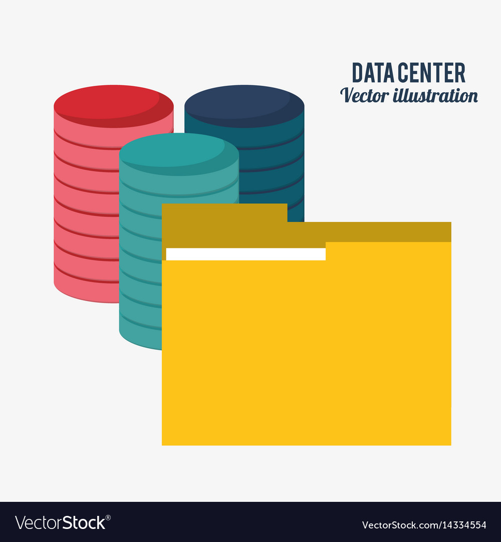 Data center technology folder file document