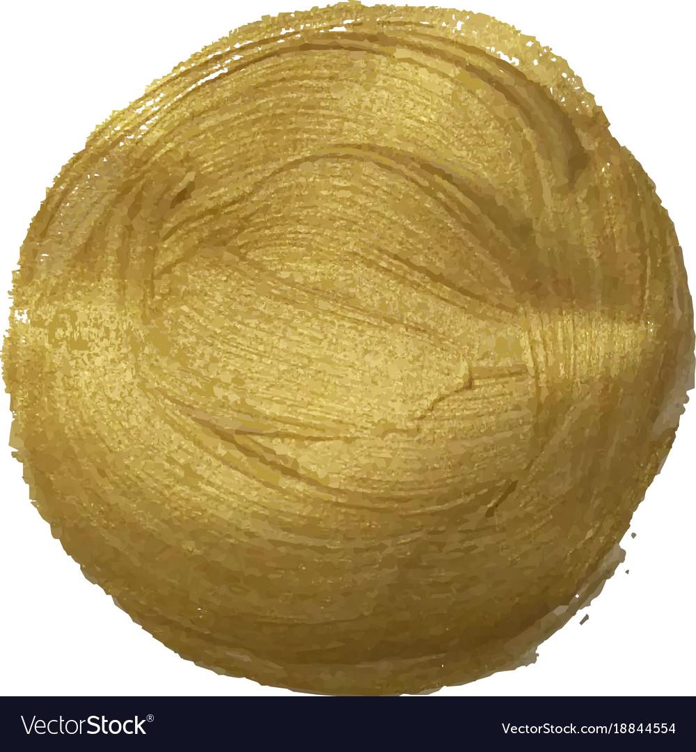 Golden paint ball