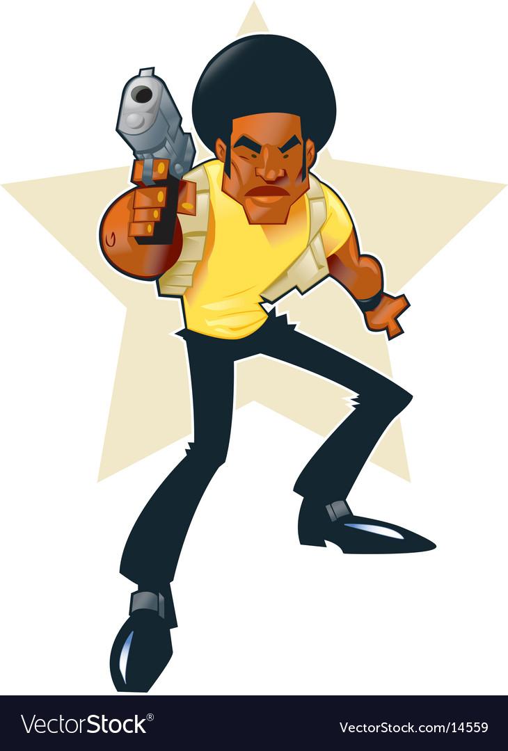 Afro hero