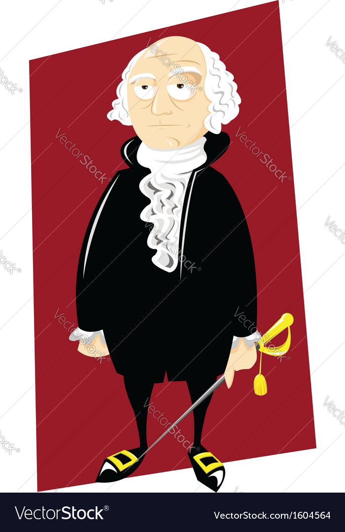 George Washington vector image