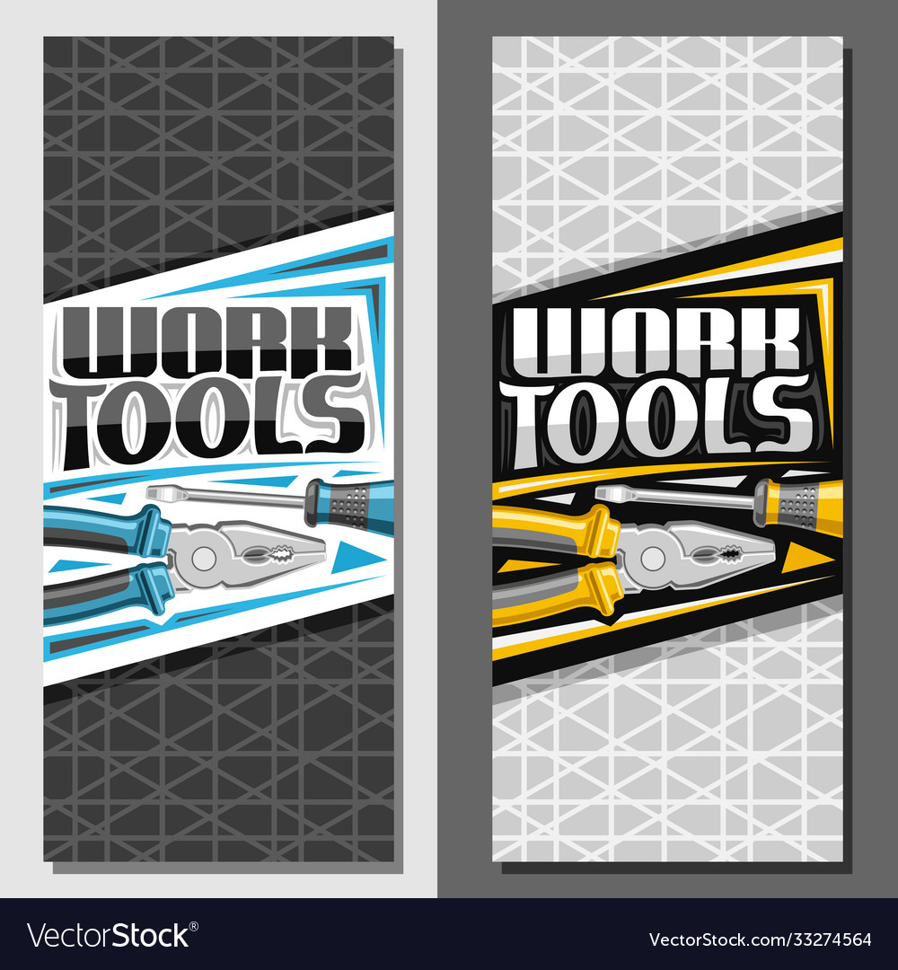 Layouts for work tools