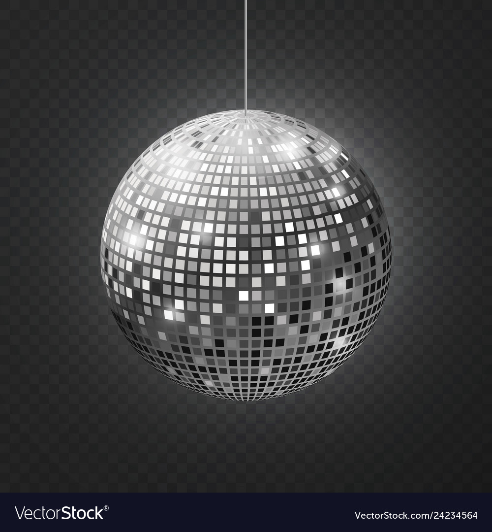 Mirror disco ball soffit reflection ball mirrored
