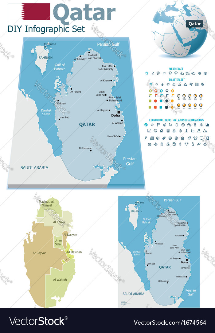 Qatar maps with markers on liechtenstien world map, cyprus world map, saudi arabia world map, monaco world map, iraq world map, libya world map, dubai world map, the netherlands world map, united arab emirates world map, uae world map, kuwait world map, turkey world map, angola world map, syria world map, belgium world map, singapore world map, hungary world map, jamaica world map, bahrain world map, russia world map,