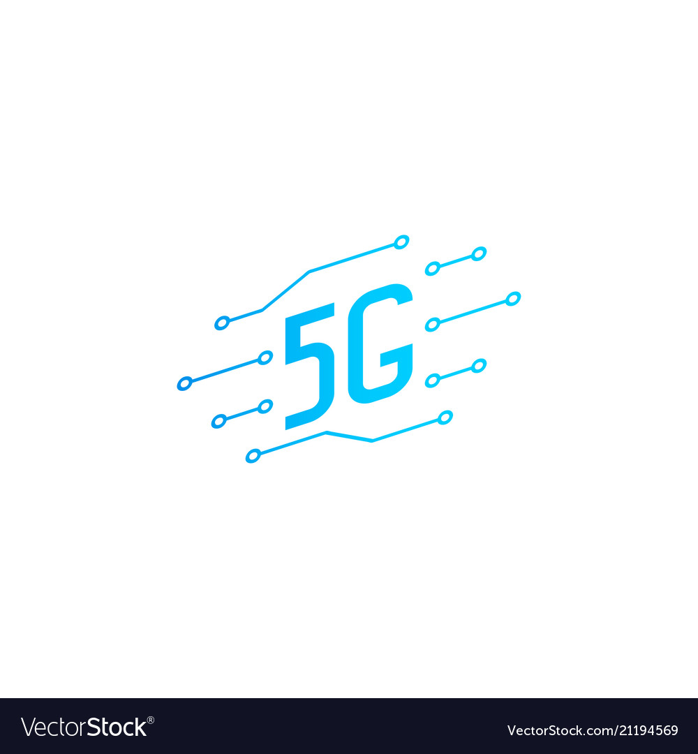 5g icon design template