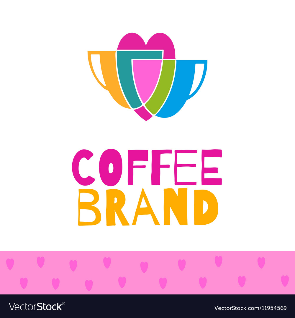 Coffee logo set