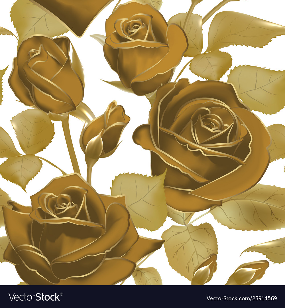 Elegant seamless background with roses in sepia
