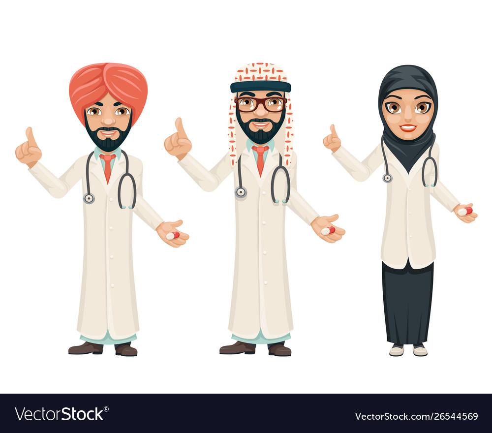 Quality treatment arab traditional national muslim