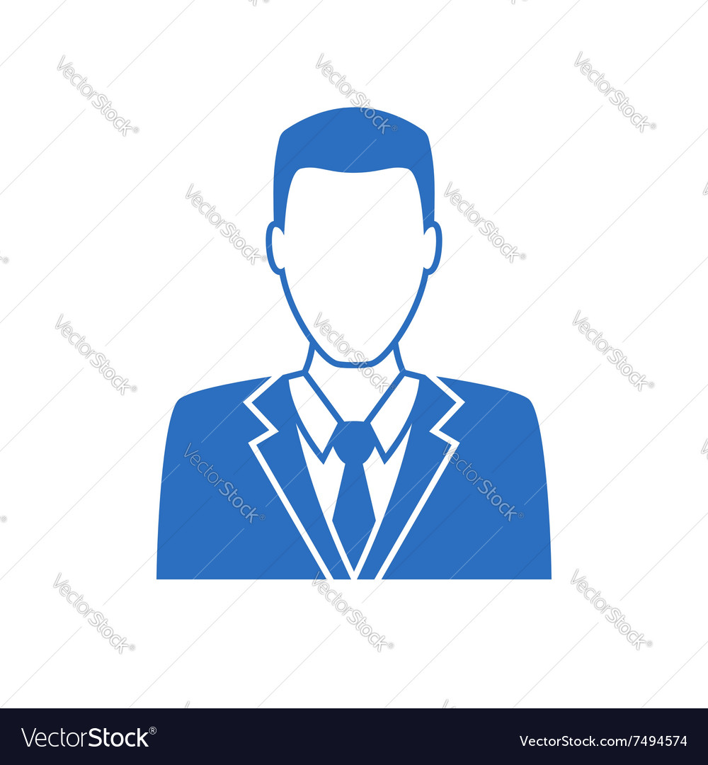 Man in business suit icon