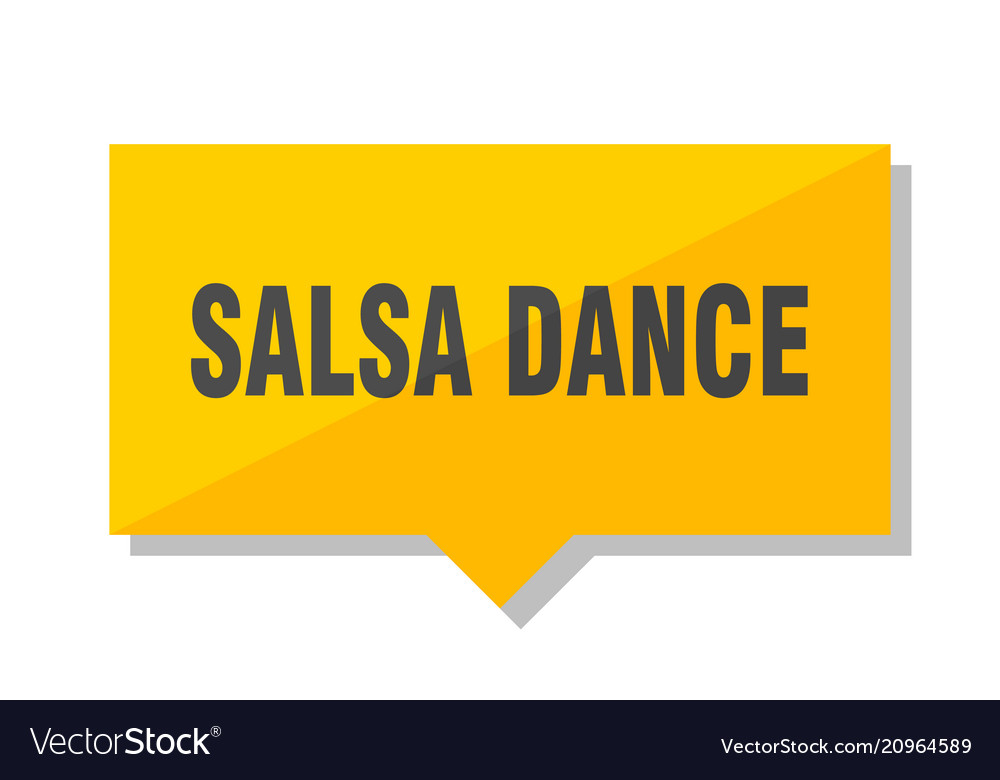 Salsa dance price tag