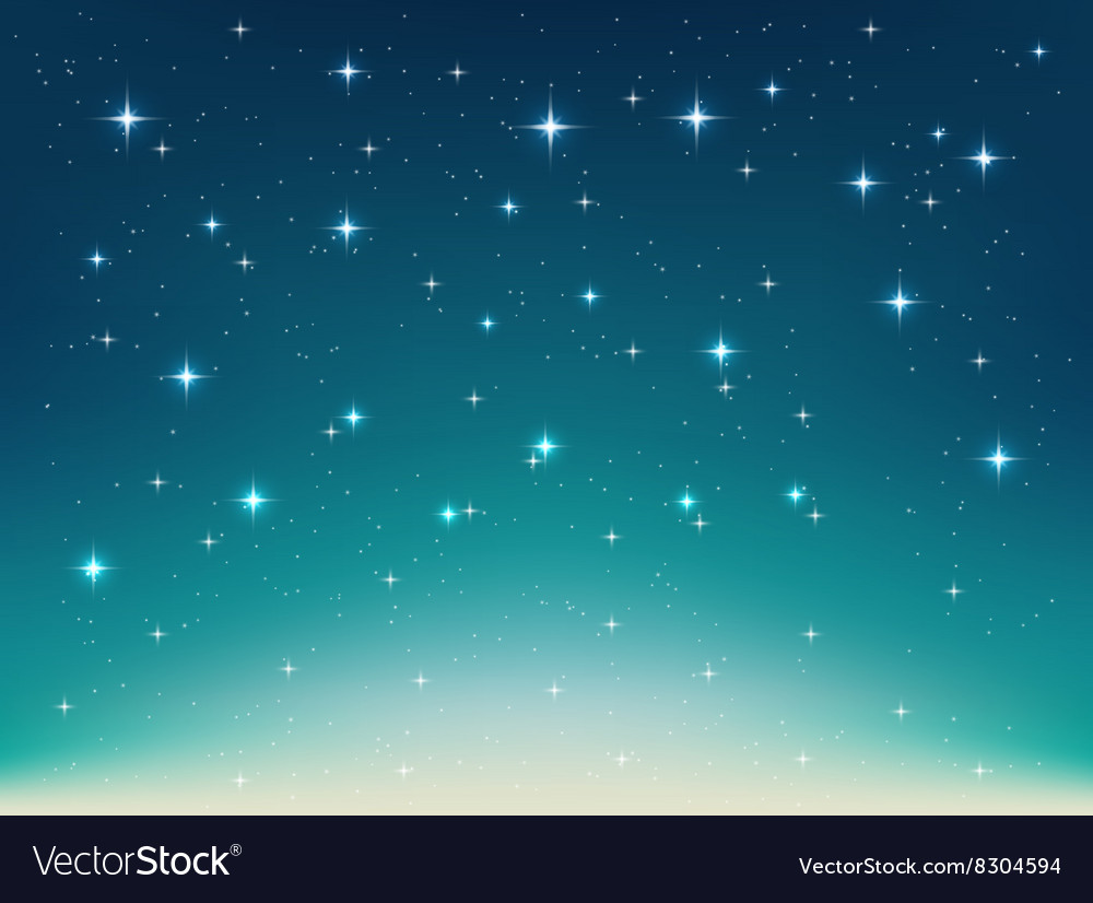 Background with night stars