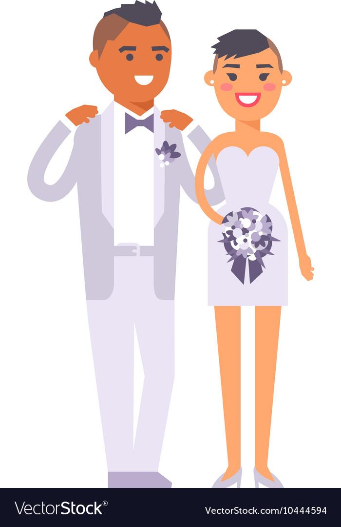 Wedding couple people