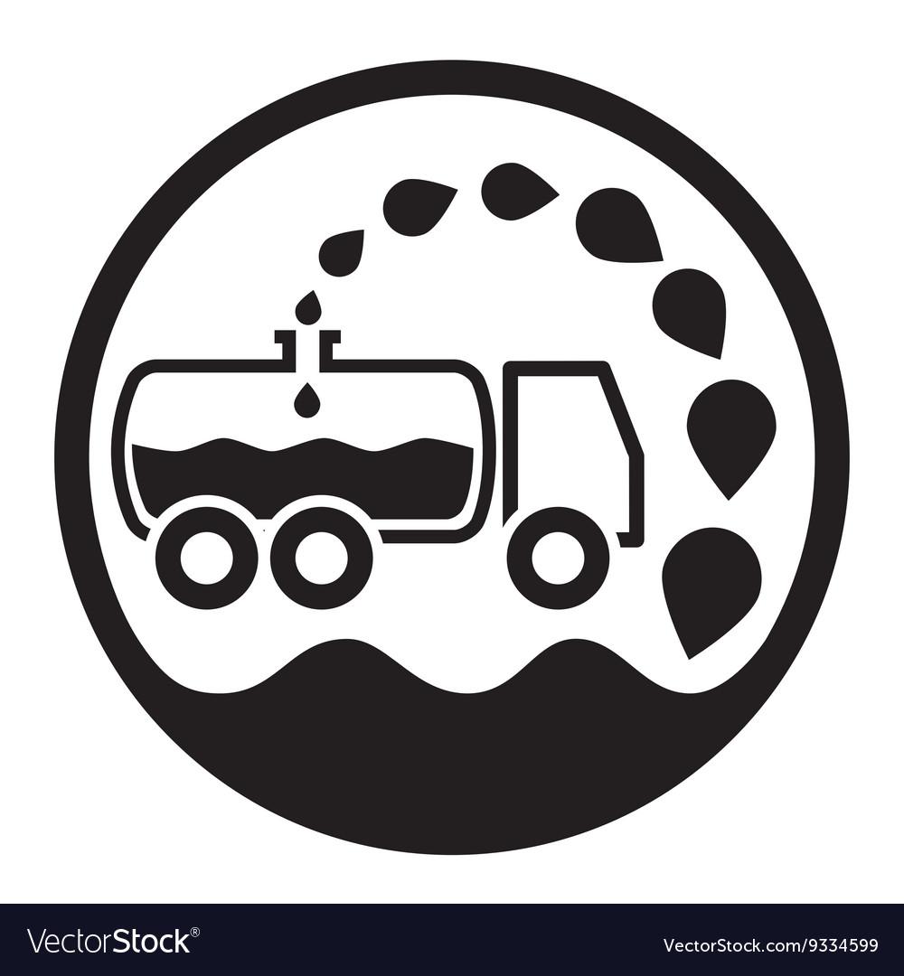 Car vacuum sewage treatment and sewage