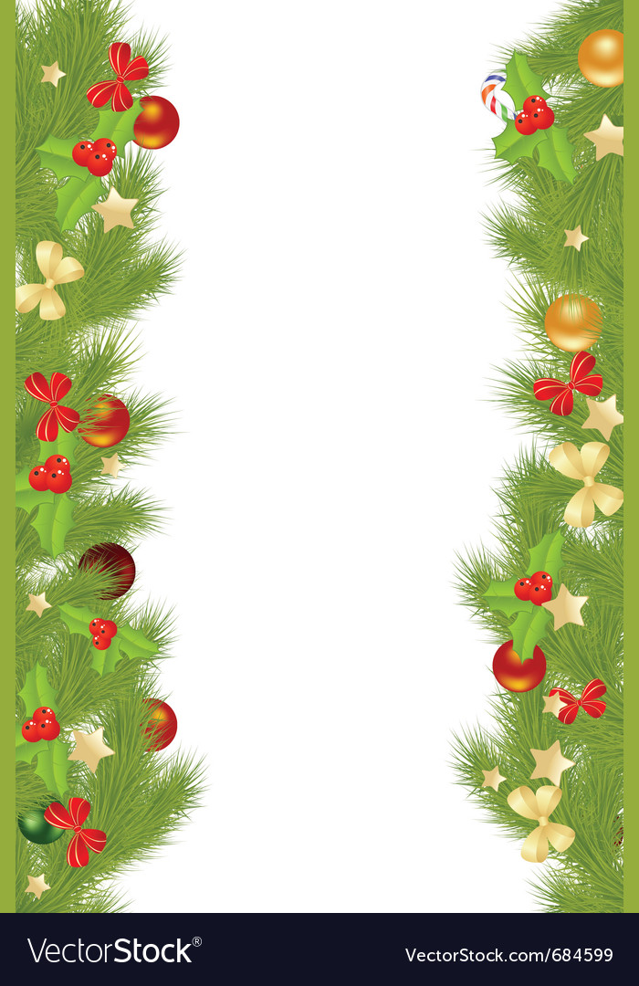 Christmas Card Border.Christmas Card Borders