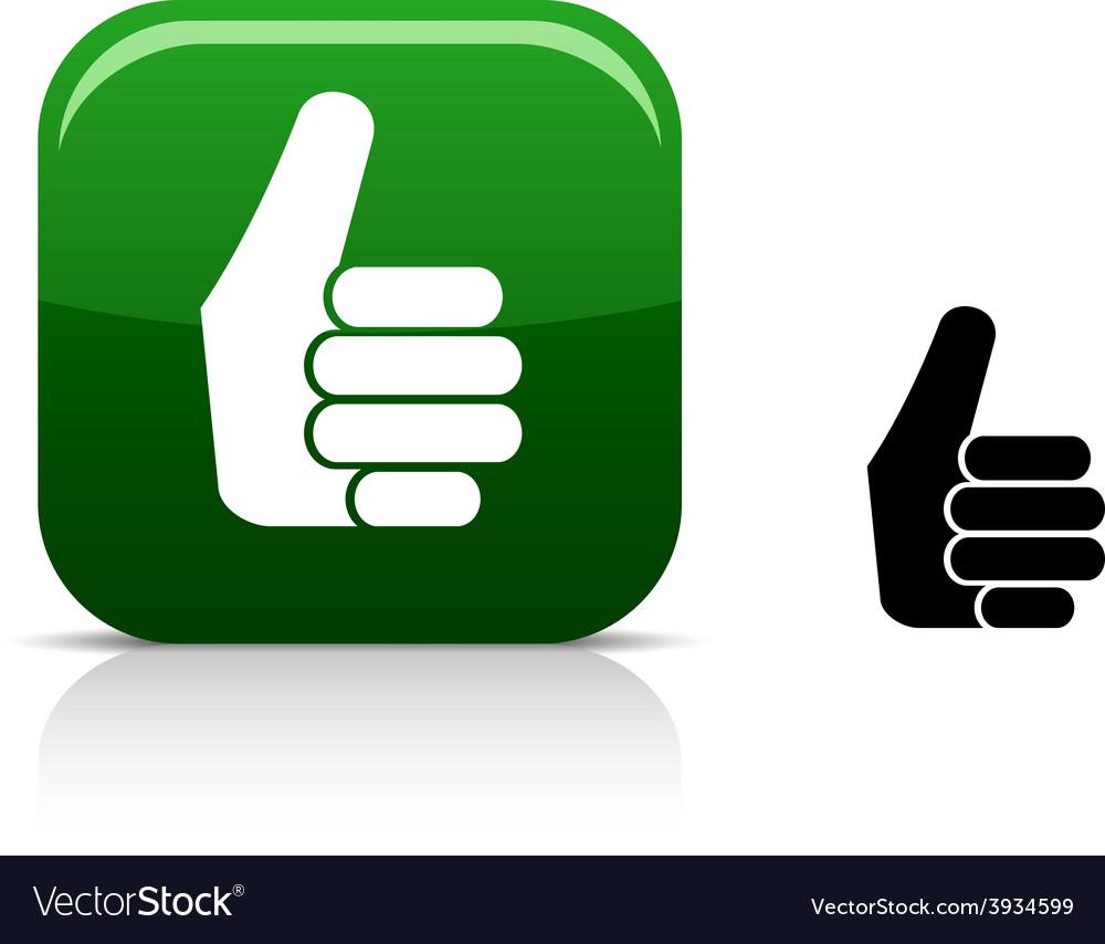 good icon royalty free vector image vectorstock vectorstock