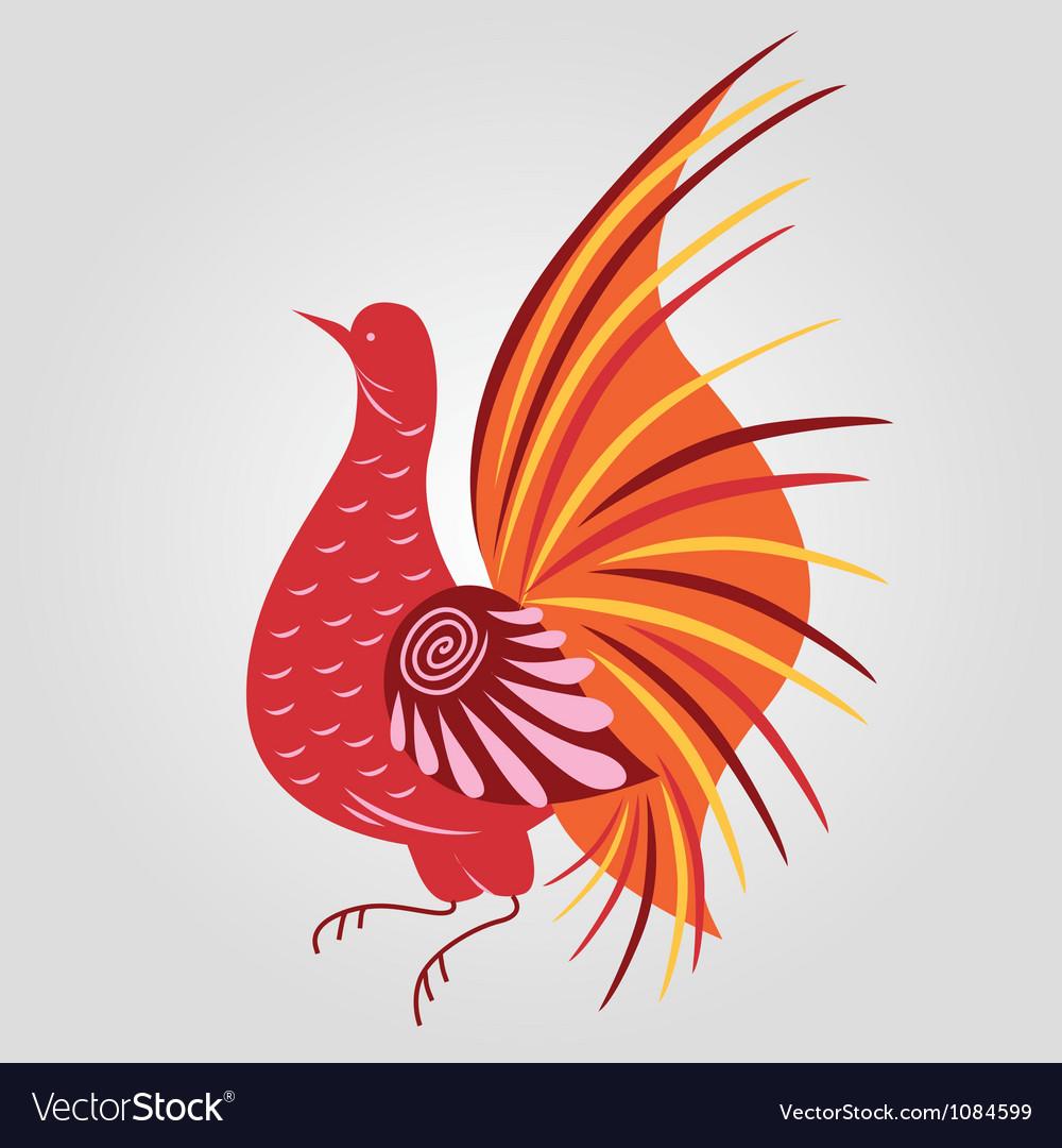 Russian style bird