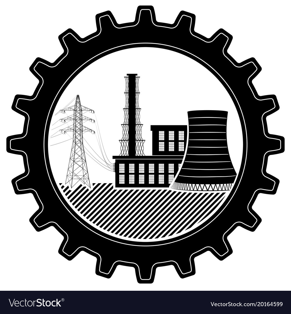 The logo is industrial thermal and nuclear power