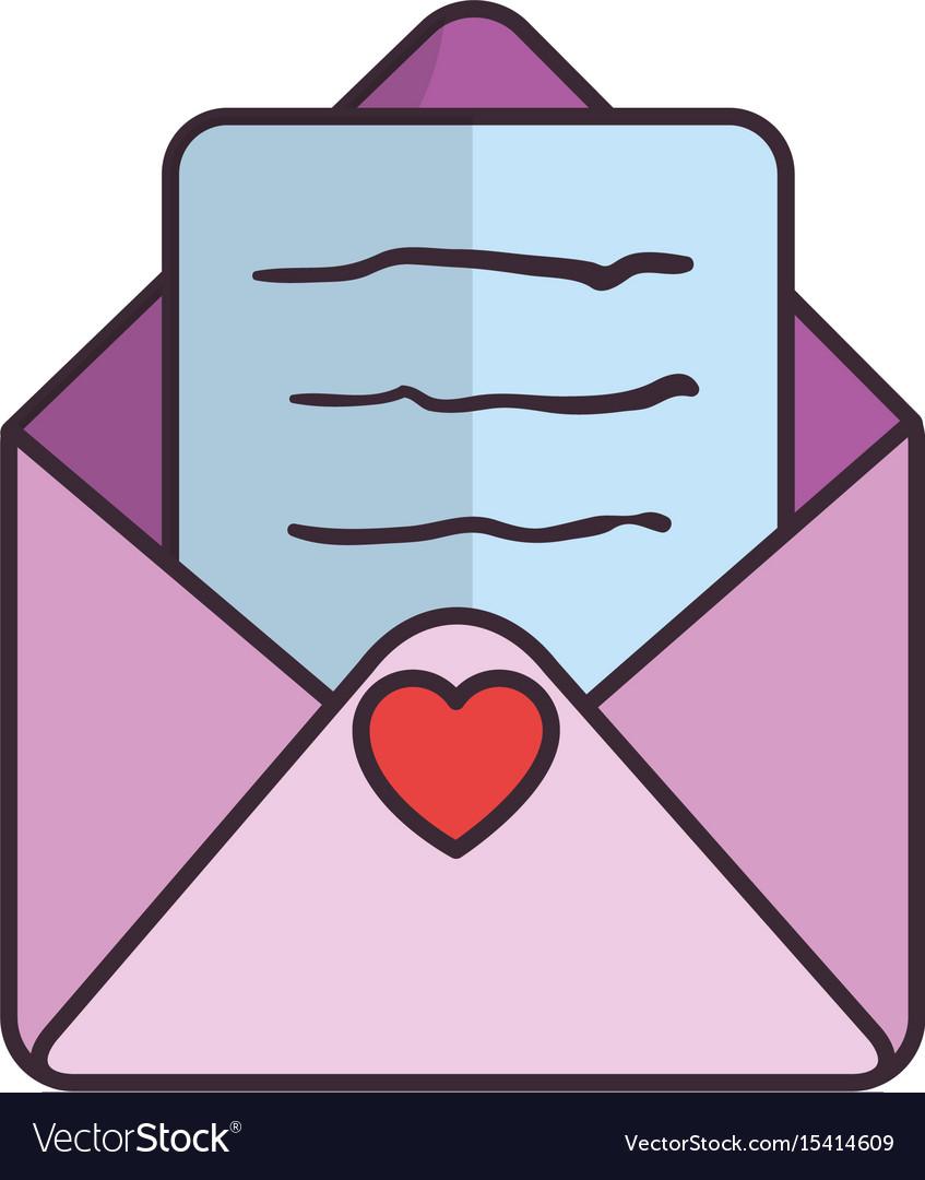 Cute love envelope