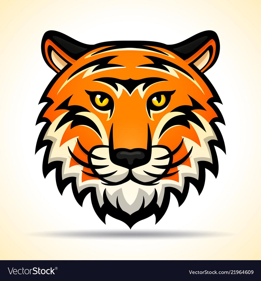 Tiger head graphic design