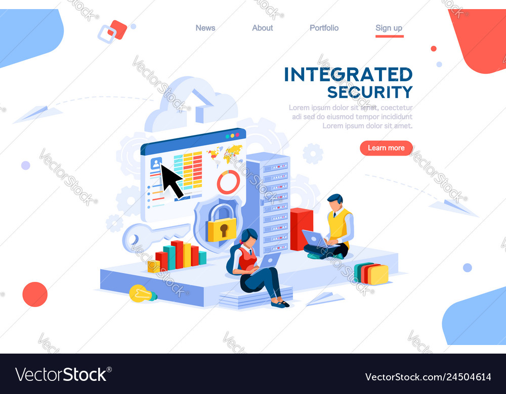 Innovation concept isometric