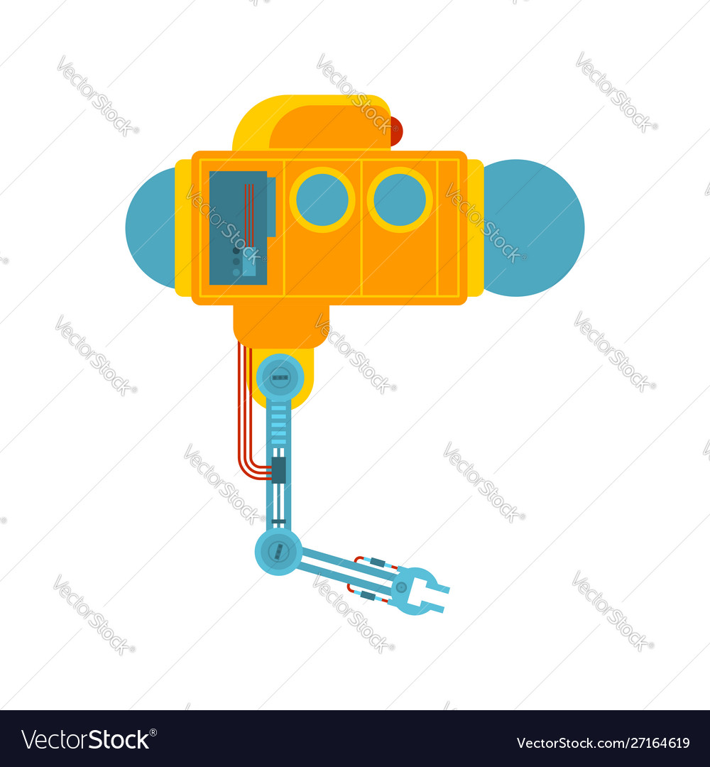Bathyscaphe manipulator mechanical hand research