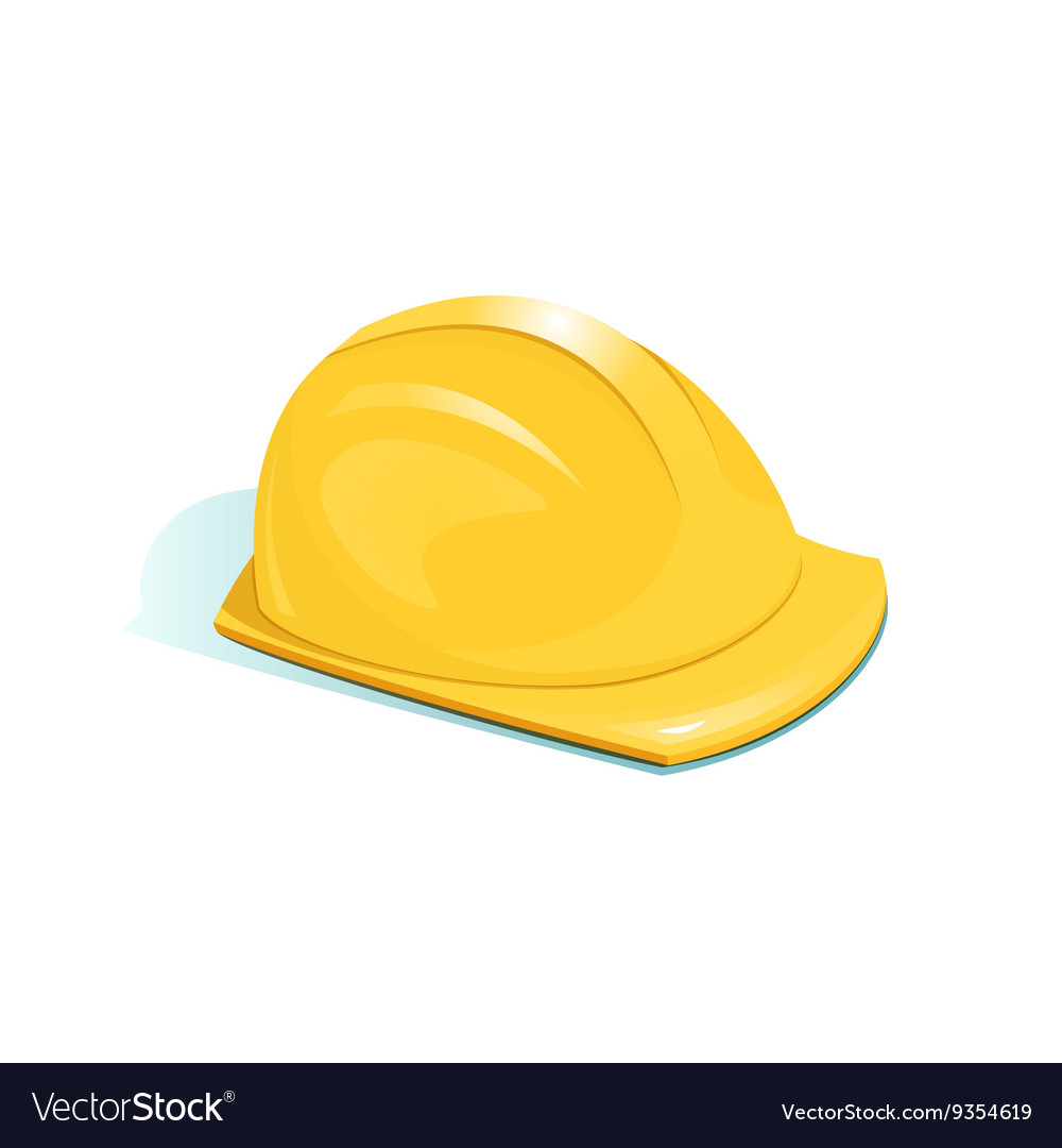 Helmet of worker