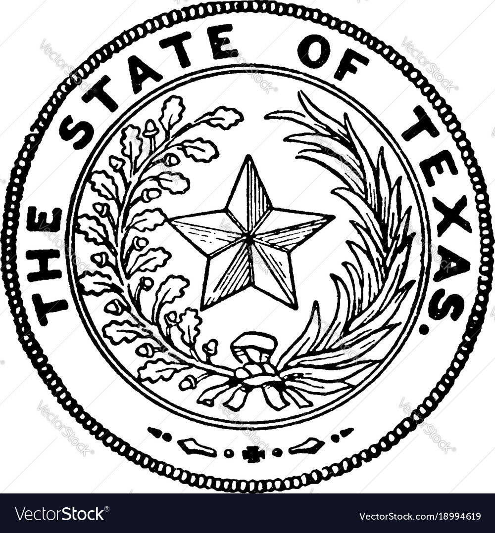 Star Of Texas >> The Seal Of Texas Vintage