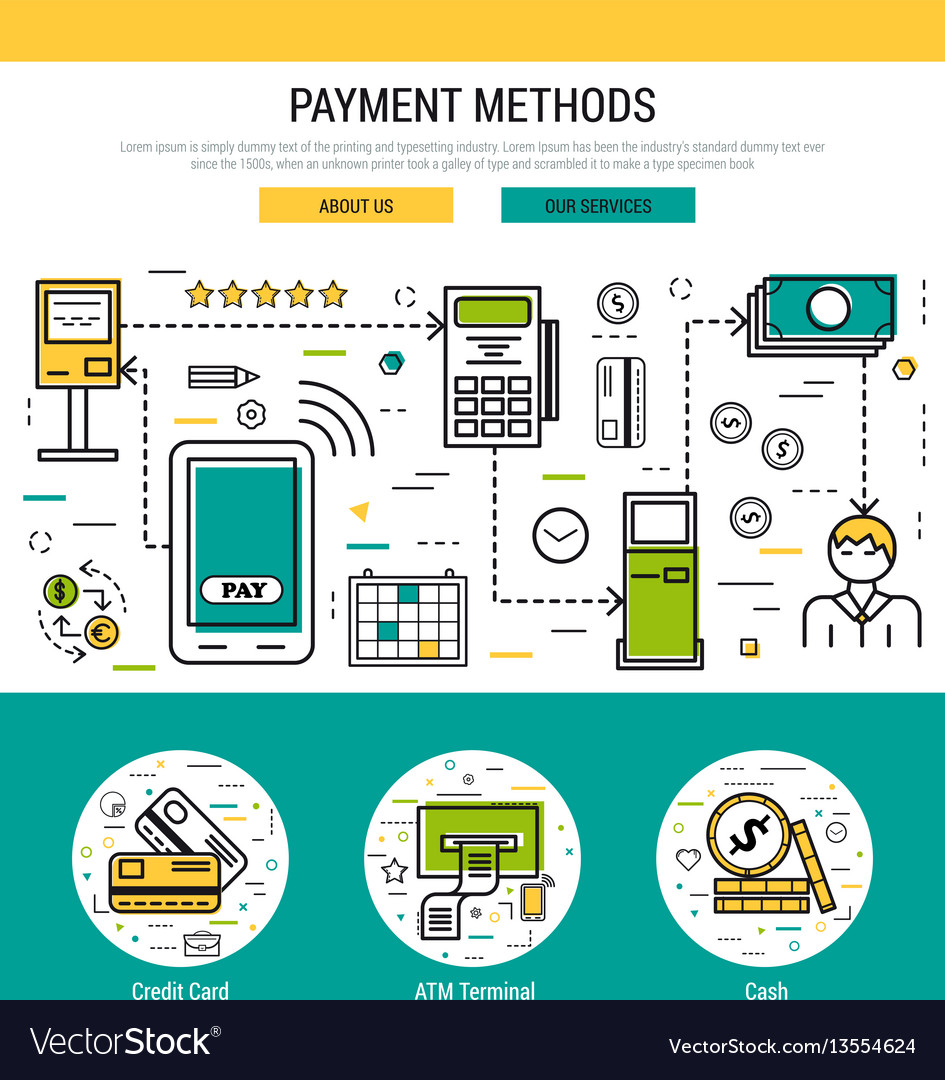 Header template - payment methods