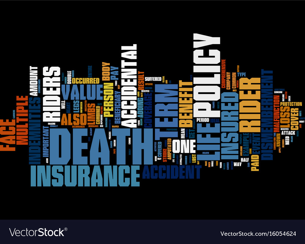 Term life insurance vs bank mortgage insurance vector image
