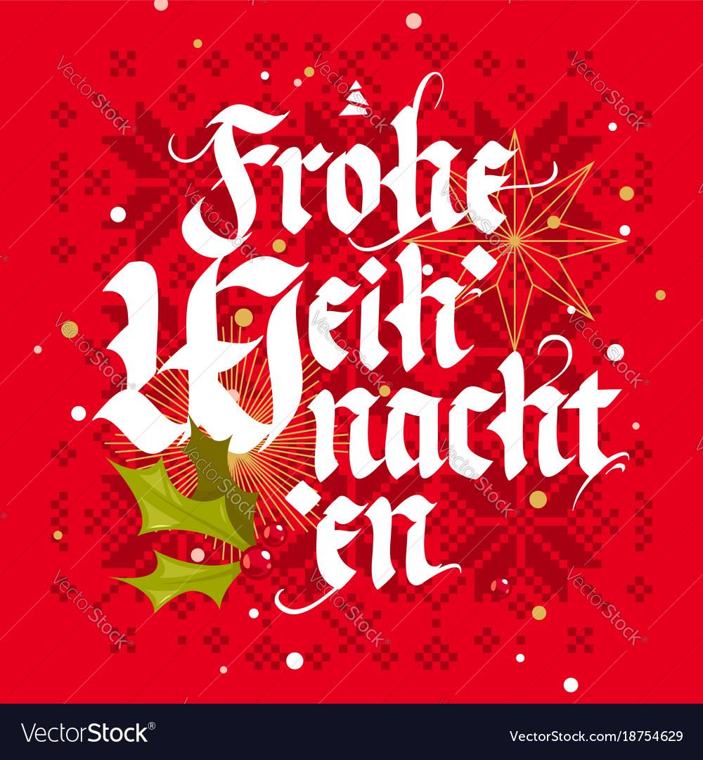 Frohe Weihnachten Download.Frohe Weihnachten Christmas Card
