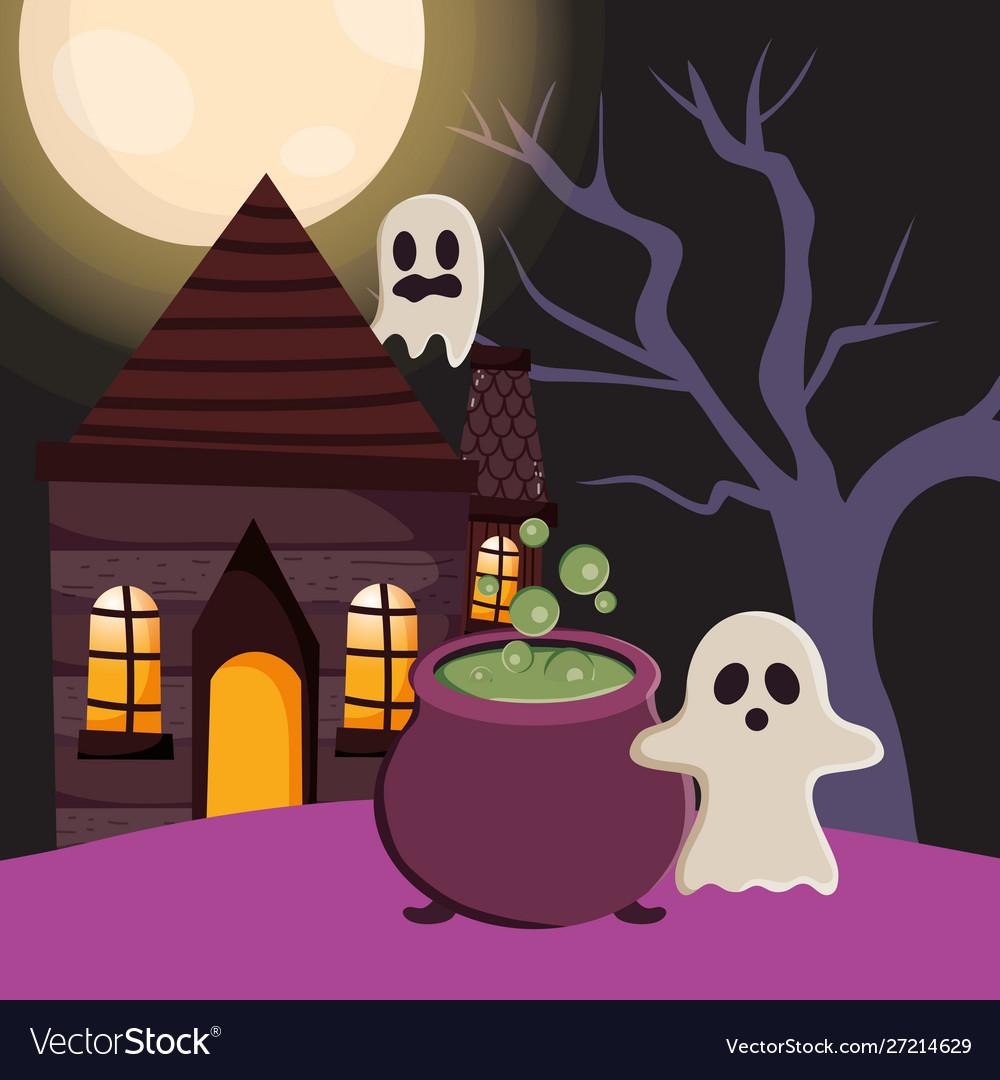 Trick or treat - happy halloween