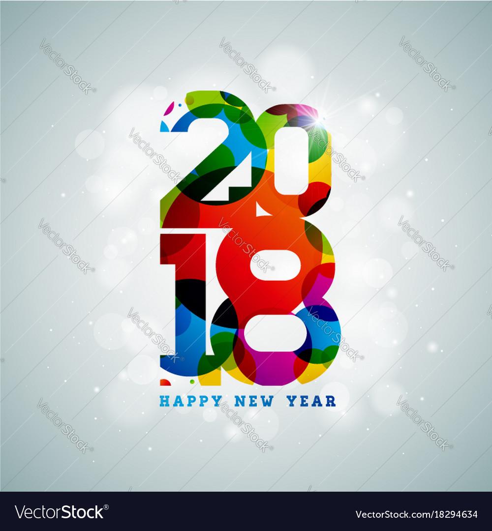 Happy new year 2018 on shiny