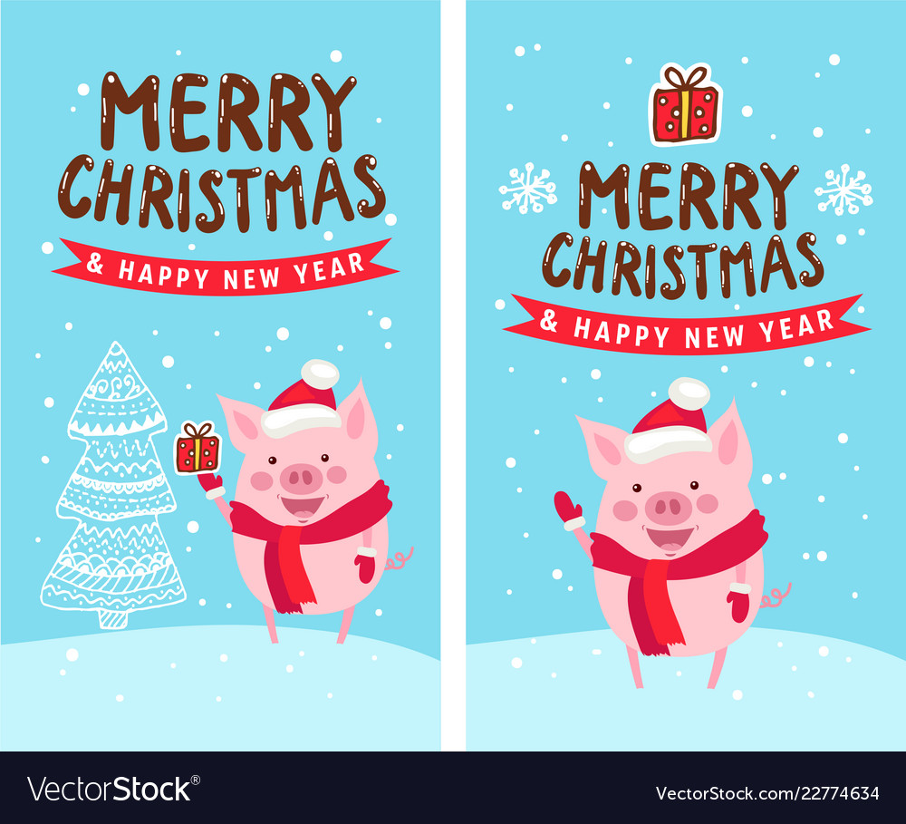 Merry christmas happy new year 2019 funny card