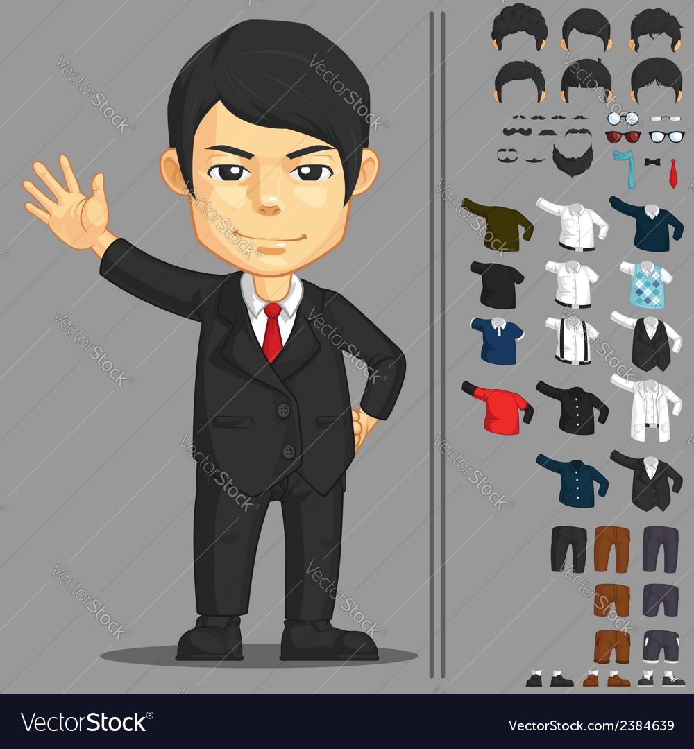 Businessman Customizable Character