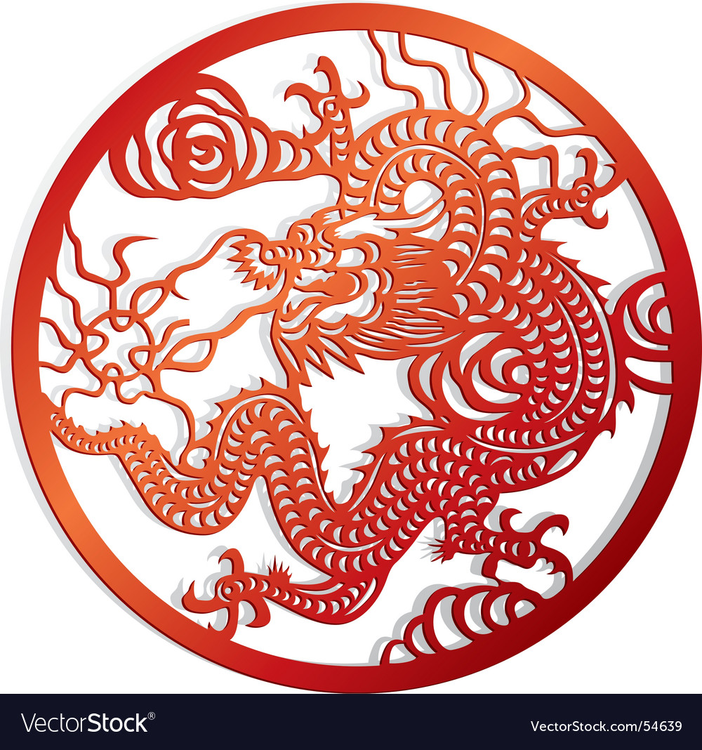 Dragon cut of chinese style