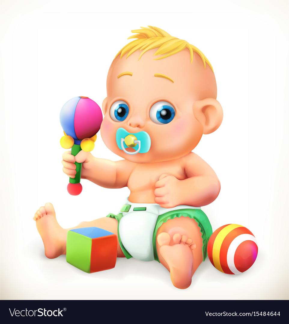 Baand toys 3d icon