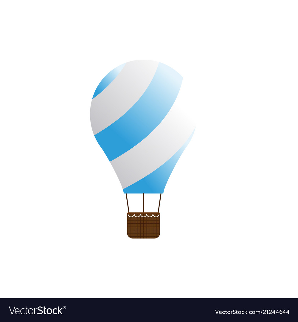Elegant air balloon template