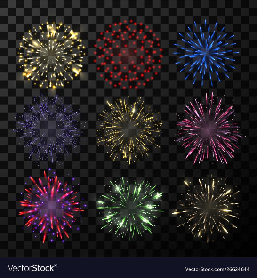 Explosion firework bright show sparkle