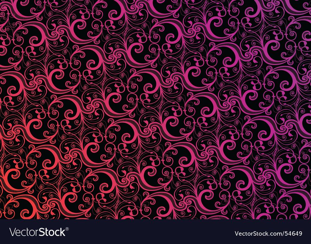 Stylish Wallpaper Royalty Free Vector Image Vectorstock