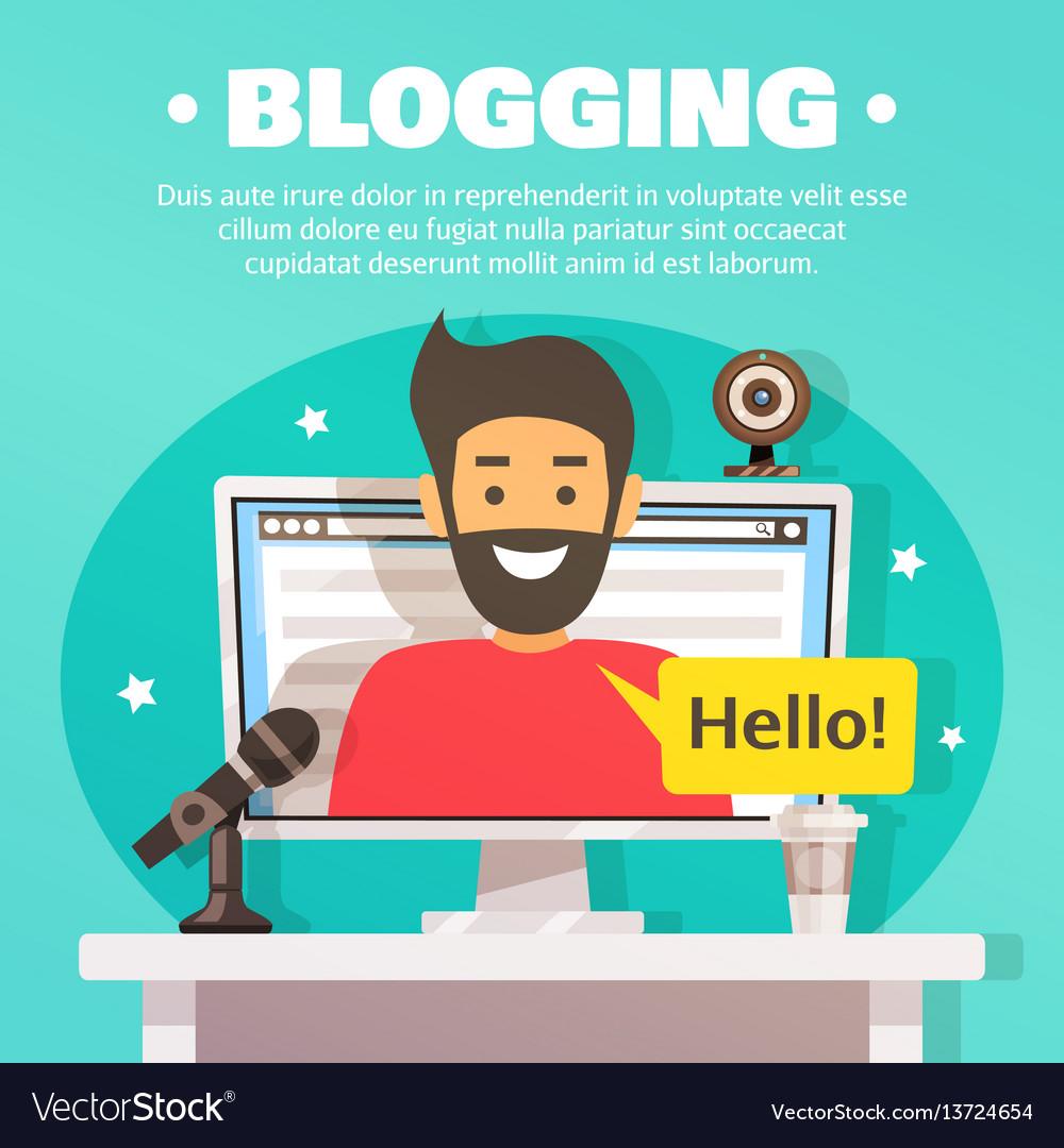 Blogger workspace background