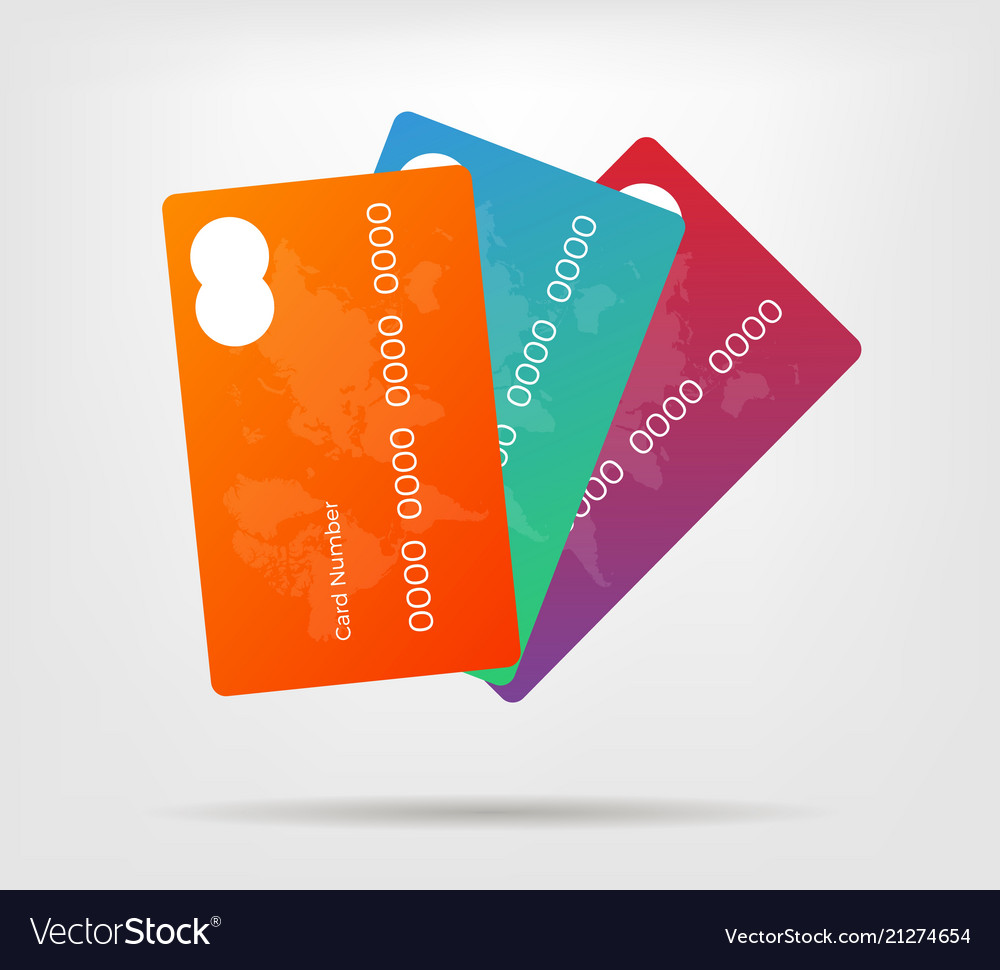 Gradient credit card with
