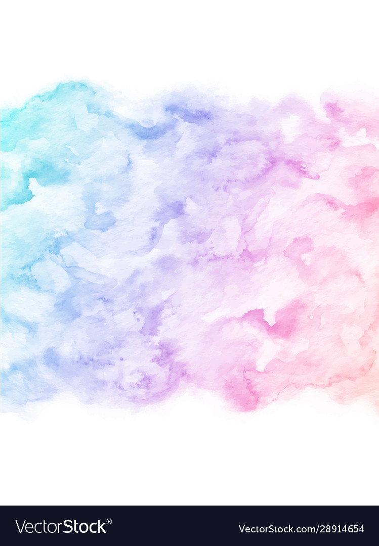 Hand painted colorful watercolor texture