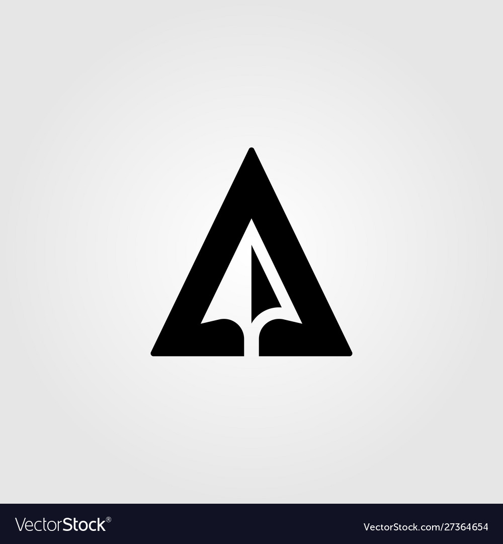 Letter A Creative Arrow Negative Space Logo Design,Traditional Japanese Sleeve Tattoo Designs